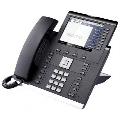 VoIP-телефон Siemens OpenScape 55G Черный (L30250-F600-C290) (L30250-F600-C290) купить через интернет телефон siemens a40