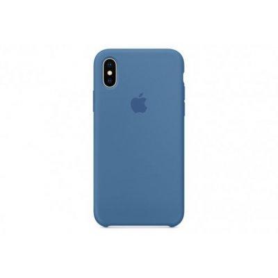 Чехол для смартфона Apple Phone X MRG22ZM/A Синий деним (MRG22ZM/A) чехол клип кейс apple для apple iphone se mmhg2zm a темно синий