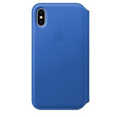 Чехол для смартфона Apple iPhone X MRGE2ZM/A Синий аргон (MRGE2ZM/A) чехол клип кейс apple для apple iphone se mmhg2zm a темно синий