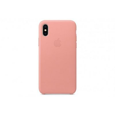 Чехол для смартфона Apple iPhone X MRGH2ZM/A Бледно-розовый (MRGH2ZM/A) чехол клип кейс apple для apple iphone se mmhg2zm a темно синий