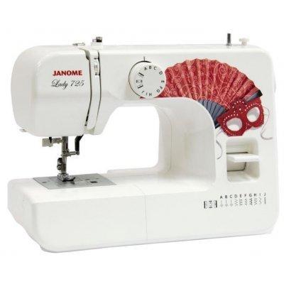 Швейная машина Janome Lady 725 белый (LADY 725) швейные машины janome швейная машина janome el530