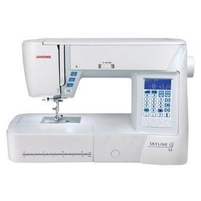 Швейная машина Janome SKYLINE S3 белый (SKYLINE S3) цена