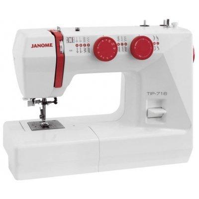 Швейная машина Janome Tip 716 белый (TIP 716) швейные машины janome швейная машина janome el530