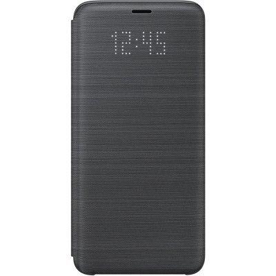 Чехол для смартфона Samsung Galaxy S9 LED View Cover черный (EF-NG960PBEGRU) (EF-NG960PBEGRU) чехол samsung s view ef cg850bsegru для samsung galaxy alpha sm g850f серебро