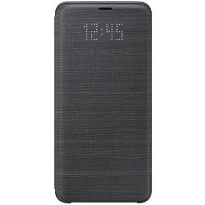 Чехол для смартфона Samsung Galaxy S9+ LED View Cover черный (EF-NG965PBEGRU) (EF-NG965PBEGRU) чехол samsung s view ef cg850bsegru для samsung galaxy alpha sm g850f серебро