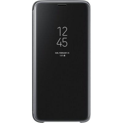 Чехол для смартфона Samsung Galaxy S9 Clear View Standing Cover черный (EF-ZG960CBEGRU) (EF-ZG960CBEGRU) чехол флип кейс samsung s view standing cover для samsung galaxy a7 2017 синий [ef ca720plegru]