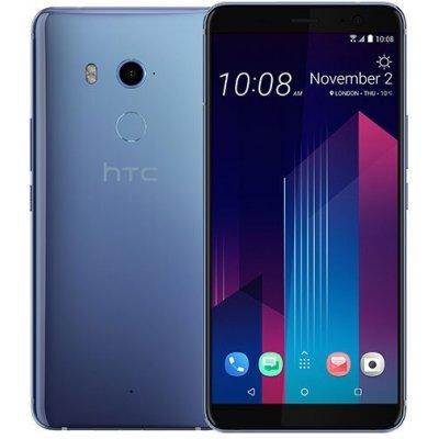 Смартфон HTC U11 Plus EEA LTE 6/128Gb Amazing Silver (Серебристый) (99HANE053-00) смартфон htc u play 32gb brilliant black черный 99halv044 00