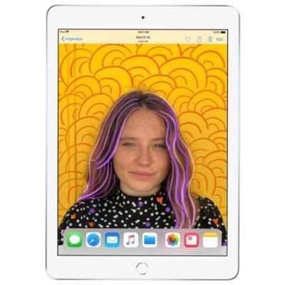 Планшетный ПК Apple iPad (2018) Wi-Fi + Cellular 32Gb MR6P2RU/A Silver (Серебристый) (MR6P2RU/A) планшетный пк apple ipad 32gb wi fi cellular серебристый mp1l2ru a