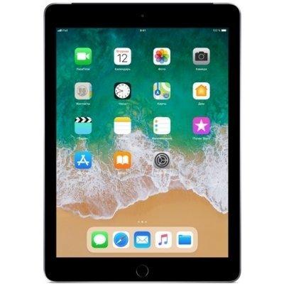 Планшетный ПК Apple iPad (2018) Wi-Fi + Cellular 32GB MR6N2RU/A Space Grey (Серый космос) (MR6N2RU/A) планшетный пк apple ipad 32gb wi fi cellular серебристый mp1l2ru a