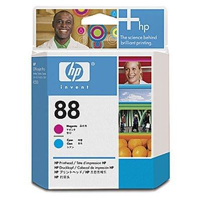 Печатающая головка HP № 88 (C9382A) для K550, пурупрная и голубая (C9382A) panic buying 10x bk c m y ink cartridge for hp 88xl officejet pro k550 k550dtn k550dtwn k5400dn k8600 l7580 l7590 free shipping