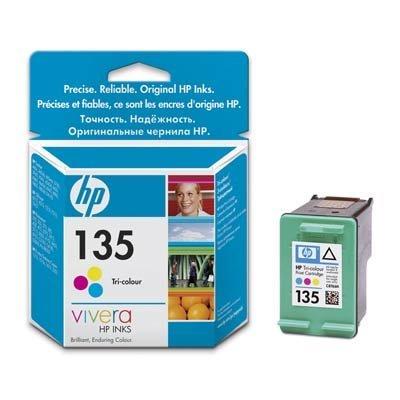 Картридж HP № 135 (C8766HE) к DJ 5743/6543, PS 2353/375/8153/8453, цветной (7мл) (C8766HE)
