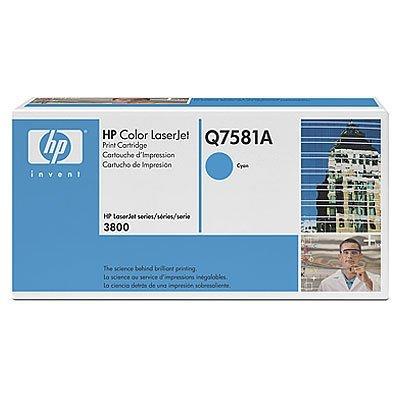 Картридж HP (Q7581A) к HP CLJ CP3505/3800 (6000 стр.), голубой (Q7581A) цена 2017
