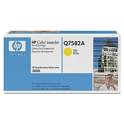 Картридж HP (Q7582A) к HP CLJ CP3505/3800 (6000 стр.), желтый (Q7582A)Тонер-картриджи для лазерных аппаратов HP<br>для: HP LaserJet CP3505 (CB441A), CP3505dn (CB443A), CP3505n (CB442A), CP3505x (CB444A)<br>