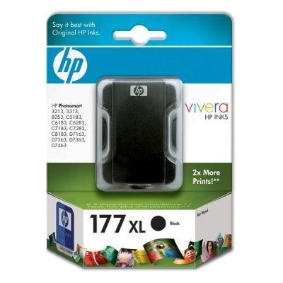 Картридж HP № 177 (C8719HE) к PS 3313/3213/8253 черный (C8719HE) hp c8721he 177 black для photosmart 8253 3213 3313