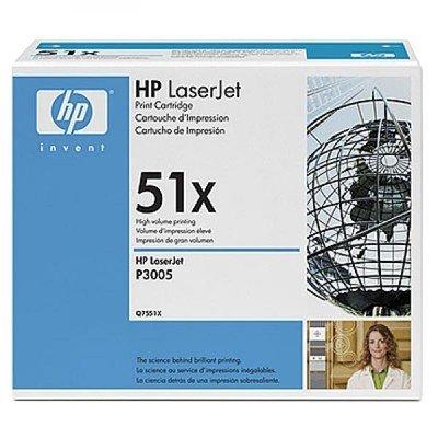 Картридж HP (Q7551X) для HP  LJ P3005/ M3027mfp/ M3035mfp (13000 страниц) (Q7551X)Тонер-картриджи для лазерных аппаратов HP<br>Для: HP LaserJet M3027 (CB416A),  M3027x (CB417A),  M3035 (CB414A), M3035xs: (CB415A), P3005 (Q7812A), P3005d (Q7813A), P3005dn (Q7815A), P3005n (Q7814A),  P3005x (Q7816A).<br>