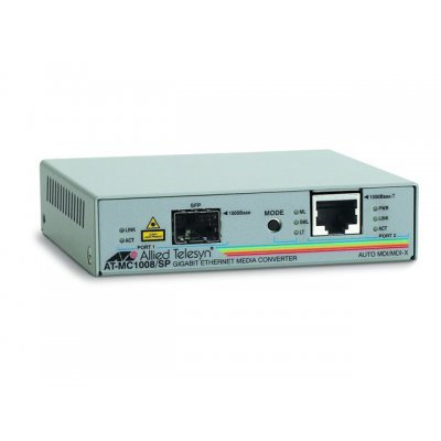 Медиаконвертор Allied Telesis 1000T to SFP Media Converter (AT-MC1008/SP)Медиаконвертеры Allied Telesis<br><br>