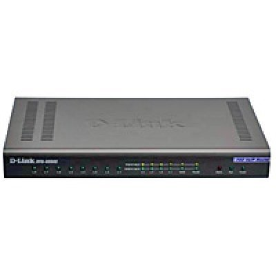 Маршрутизатор D-link DVG-6008S (DVG-6008S)VoIP шлюзы D-Link<br>8 FXO VoIP Gateway 4 10/100BASE-TX Fast Ethernet port (LAN), 1 10/100BASE-TX Fast Ethernet port (WAN) 8 FXO RJ-11 ports Support<br>