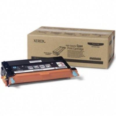 Принт Картридж Phaser 6180 Голубой повышенной емкости (6000 images) (113R00723)Тонер-картриджи для лазерных аппаратов Xerox<br>High Capacity Cyan Print Cartridge<br>