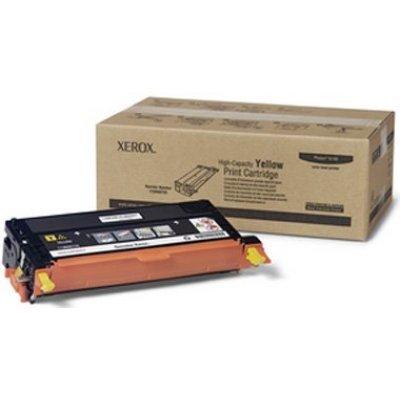 Принт Картридж Phaser 6180 Желтый повышенной емкости (6000 images) (113R00725)Тонер-картриджи для лазерных аппаратов Xerox<br>High Capacity Yellow Print Cartridge<br>