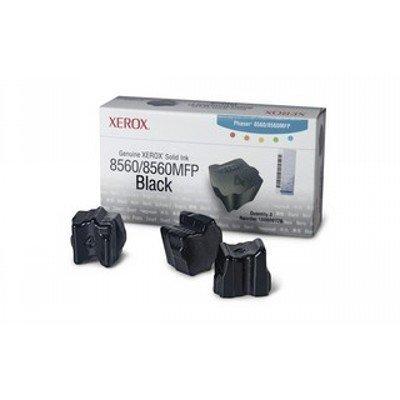 Набор твердочернильных брикетов Phaser 8560 3 Black ColorStixink sticks (3000 pages) (108R00767)Твердочернильные брикет Xerox<br>Набор черных твердочернильных брикетов (3шт.)<br>