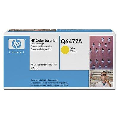 Картридж HP (Q6472A) к HP CLJ 3600, желтый (Q6472A)Тонер-картриджи для лазерных аппаратов HP<br>4000 стр. Для HP Color LaserJet 3600 (Q5986A), 3600dn (Q5988A), 3600n (Q5987A)<br>