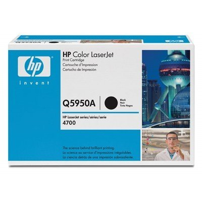 Картридж HP (Q5950A) к HP CLJ 4700 (11000 стр.), черный (Q5950A)Тонер-картриджи для лазерных аппаратов HP<br>Для: HP Color LaserJet 4700 (Q7491A), 4700dn (Q7493A), 4700dtn (Q7494A), 4700n (Q7492A), 4700PH+ (Q7495A)<br>