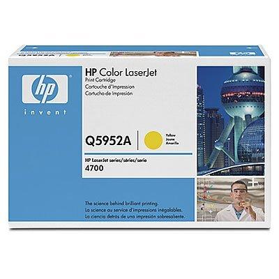 Картридж HP (Q5952A) к HP CLJ 4700 (10000 стр.), желтый (Q5952A)Тонер-картриджи для лазерных аппаратов HP<br>Для HP Color LaserJet 4700 (Q7491A), 4700dn (Q7493A), 4700dtn (Q7494A),  4700n (Q7492A), 4700PH+ (Q7495A)<br>