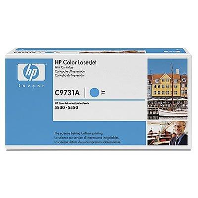 Картридж HP (C9731A) к HP CLJ 5500/5550 (12000 стр), голубой (C9731A)Тонер-картриджи для лазерных аппаратов HP<br>для : HP Color LaserJet 5500 (C9656A), LJ 5500dn (C9657A), LJ 5500dtn (C9658A), LJ 5500hdn (C9659A), LJ 5500n (C7131A), LJ 5550 (Q3713A), LJ 5550dn (Q3715A), LJ 5550dtn (Q3716A), <br>LJ 5550n (Q3714A), 5550HDN (Q3717A)<br>