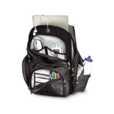 Рюкзак для ноутбука Kensington Contour Backpack 15.4 (1500234)Рюкзаки для ноутбуков Kensington<br>Рюкзак для ноутбука Kensington Contour Backpack 15.4<br>