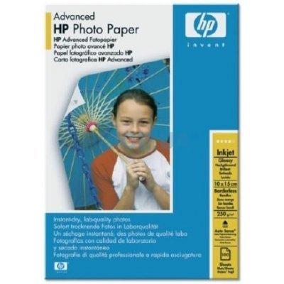 Фотобумага HP Улучшения Глянцевая, 250 г/м2, 10*15 для печати без полей, 60 листов (Q8008A)
