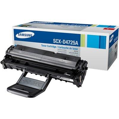 Принт-Картридж Samsung SCX-D4725A для SCX-4725F/4725FN (3000 отпечатков) (SCX-D4725A/ELS)Тонер-картриджи для лазерных аппаратов Samsung<br>Картридж с черным тонером на 3000 страниц<br>