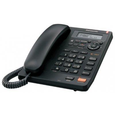 Проводной телефон Panasonic KX-TS2570 черный (KX-TS2570RUB) проводной телефон panasonic kx ts2352rub черный