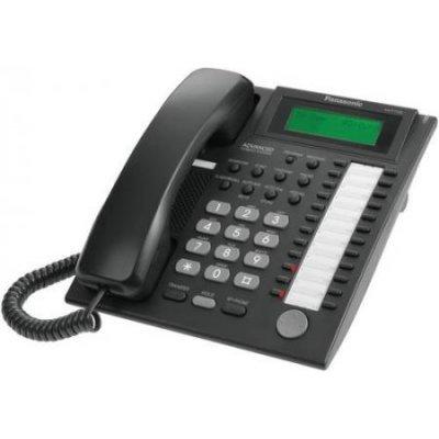 Цифровой системный телефон Panasonic KX-T7735RUB (KX-T7735RUB) цифровой системный телефон panasonic kx t7735ruw kx t7735ruw