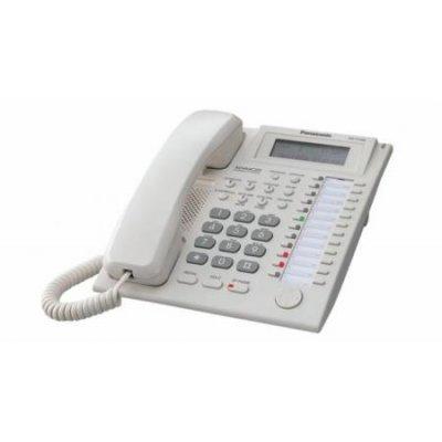 Цифровой системный телефон Panasonic KX-T7735RUW (KX-T7735RUW) цифровой системный телефон panasonic kx t7735ruw kx t7735ruw