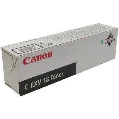 Картридж (0386B002) Canon C-EXV18 (0386B002)Тонер-картриджи для лазерных аппаратов Canon<br>Оригинальный тонер-картридж Canon. Заявленный ресурс: 8 400 страниц А4 при заполнении в 6%. Совместимые модели устройств: iR1018J, iR1018i, iR1022A, iR1022F, iR1022i, iR1022iF.<br>