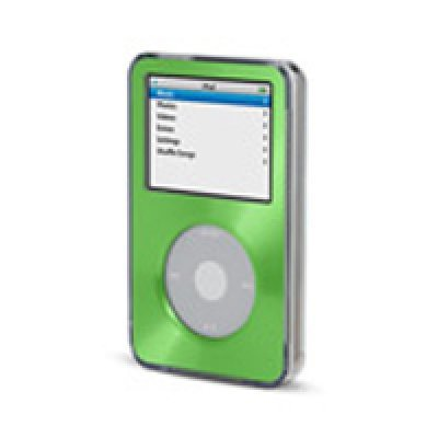 Фото Чехол Belkin Clear Acrylic and Brushed-Metal Case for 5G iPod, Green