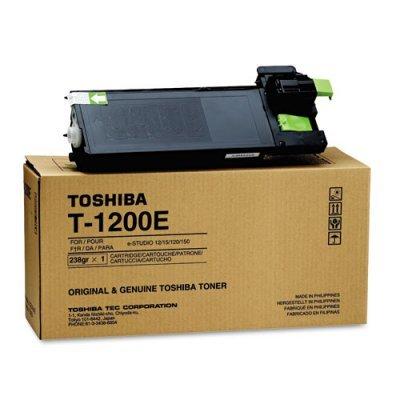 Тонер Toshiba Т-1200  для e-STUDIO120/150 1 шт. (8000 отпечатков) (6B000000085)Тонер-картриджи для лазерных аппаратов Toshiba<br>для e-STUDIO120/150 1 шт. (8000 отпечатков)<br>