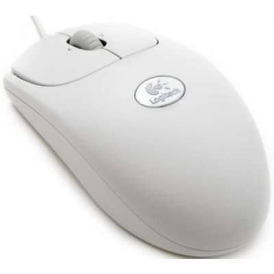 Мышь Logitech RX250 Optical Mouse White (910-000185) (910-000185)Мыши Logitech<br>проводная, 1000 dpi, USB+PS/2<br>