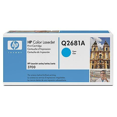 Картридж HP (Q2681A) для HP CLJ 3700, голубой (Q2681A)Тонер-картриджи для лазерных аппаратов HP<br>Совместим с : HP LaserJet 3700 (Q1321A), 3700dn (Q1323A), 3700dtn (Q1324A), 3700n (Q1322A)<br>