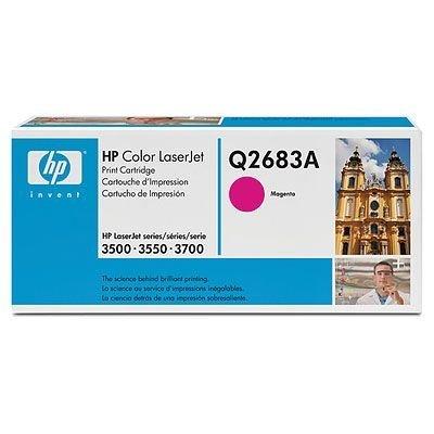 Картридж HP (Q2683A) для HP CLJ 3700, пурпурный (Q2683A)Тонер-картриджи для лазерных аппаратов HP<br>Совместим с : HP LaserJet 3700 (Q1321A), 3700dn (Q1323A), 3700dtn (Q1324A), 3700n (Q1322A)<br>