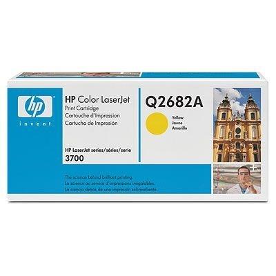 Картридж HP (Q2682A) для HP CLJ 3700, желтый (Q2682A)Тонер-картриджи для лазерных аппаратов HP<br>Совместим с : HP LaserJet 3700 (Q1321A), 3700dn (Q1323A), 3700dtn (Q1324A), 3700n (Q1322A)<br>