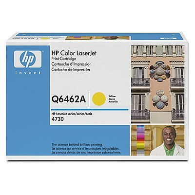 Картридж HP (Q6462A) для HP Color LaserJet 4730 MFP (12000 копий), желтый (Q6462A)