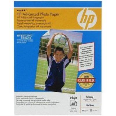 Фотобумага HP Глянцевая с улучшенными характеристиками, 13x18 см, 250 г/м2, 25 листов (Q8696A)Фотобумага HP<br><br>