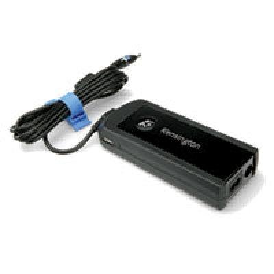 Универсальный блок питания розетка/авто/самолёт Kensington для ноутбуков, 90 Вт + USB Power Port (33403EU)Автомобильные зарядные устройства Kensington<br>Универсальный блок питания от розетки, автомобильного прикуривателя и для самолета. Подходит для ноутбуков Del, HP, Compaq, IBM, Lenovo, Toshiba, Sony, Fujitsu Siemens, Acer, Asus. Встроенный USB порт для зарядки мобильного телефона, КПК, iPod и других устройств.<br>