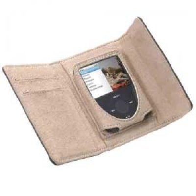 Фото Чехол кожаный GEAR4  LeatherWallet N3 Brown (для iPod nano G3)