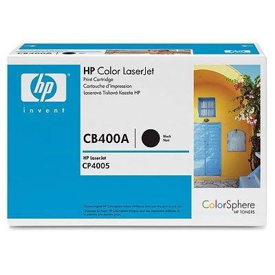 Картридж HP (CB400A) для HP Color LJ CP4005, черный (CB400A)Тонер-картриджи для лазерных аппаратов HP<br>Совместим с: HP LaserJet CP4005dn (CB504A), CP4005n (CB503A)<br>
