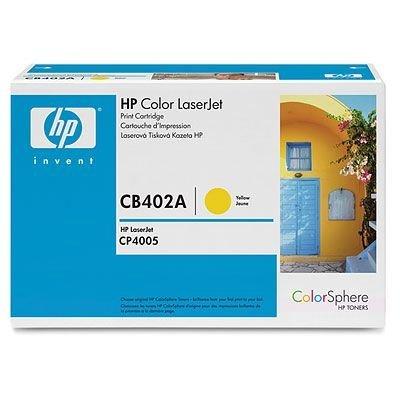 Картридж HP (CB402A) для HP Color LJ CP4005, желтый (CB402A)Тонер-картриджи для лазерных аппаратов HP<br>Свместим с HP LaserJet CP4005dn (CB504A), CP4005n (CB503A)<br>