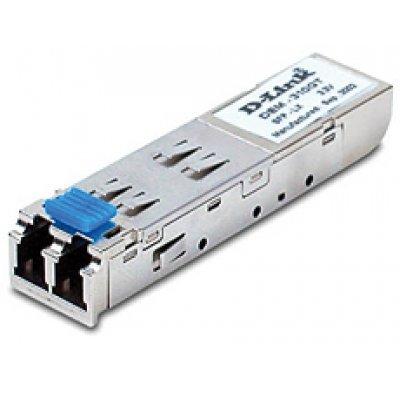 Трансивер D-Link DEM-310GT (DEM-310GT)Трансиверы D-Link<br>1-port mini-GBIC LX Single-mode Fiber Transceiver (10km, 3.3V)<br>