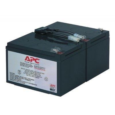 Аккумуляторная батарея для ИБП APC RBC6 для BP1000I, SUVS1000I, SU1000INET, SU1000RMINET, SUA1000I (RBC6)Аккумуляторные батареи для ИБП APC<br>Battery replacement kit for BP1000I, SUVS1000I, SU1000INET, SU1000RMINET, SUA1000I<br>