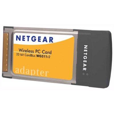 Wi-Fi адаптер Netgear WG511 (WG511EE)Адаптеры Wi-Fi Netgear<br>адаптер 54 Мбит/с<br>